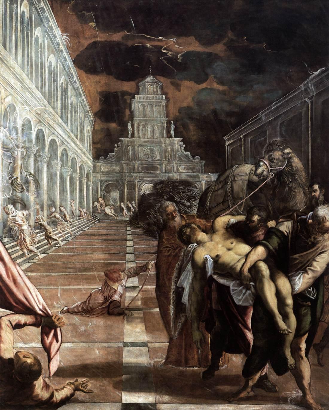 Artetorre: EL RAPTO DEL CUERPO DE SAN MARCOS - Jacopo Comin Tintoretto