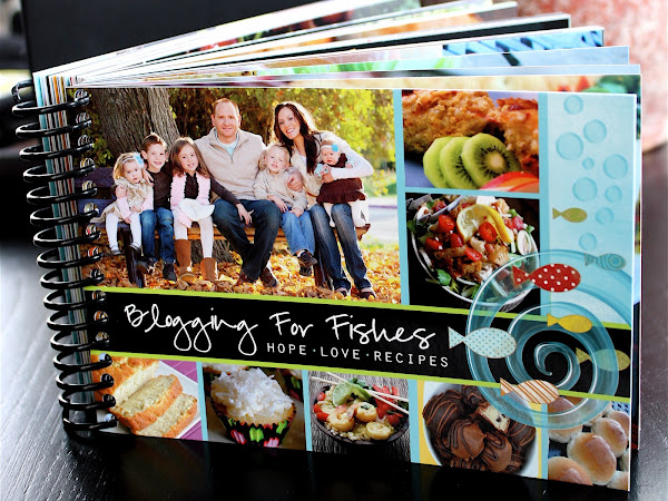 Blogging for Fishes Recipe Book GIVEAWAY. ~CLOSED~