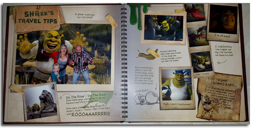 Our DreamWorks Travel Journal