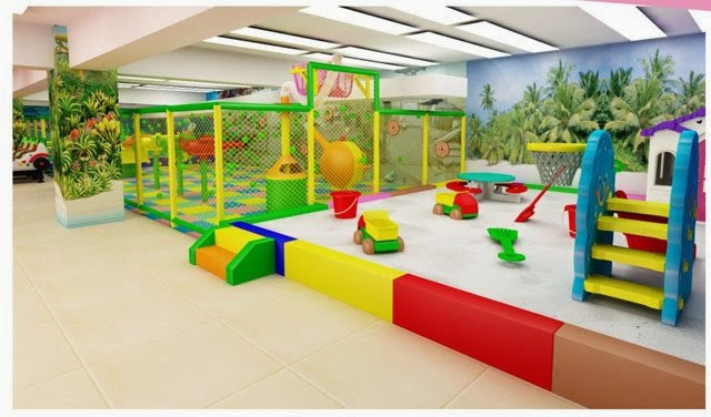 Home improvement ideas how to build pre school play area for Indoor gym equipment for preschool