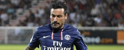 ezequel lavezzi on milan radar