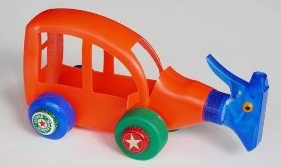 Ideias De Brinquedos De Material Reciclado