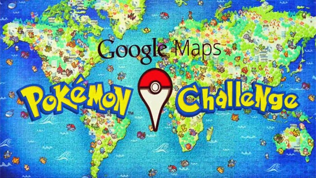 Aplicación Movil: Google Maps Pokémon Challenge