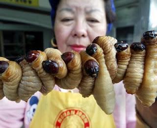 Que significa soñar con comer gusanos