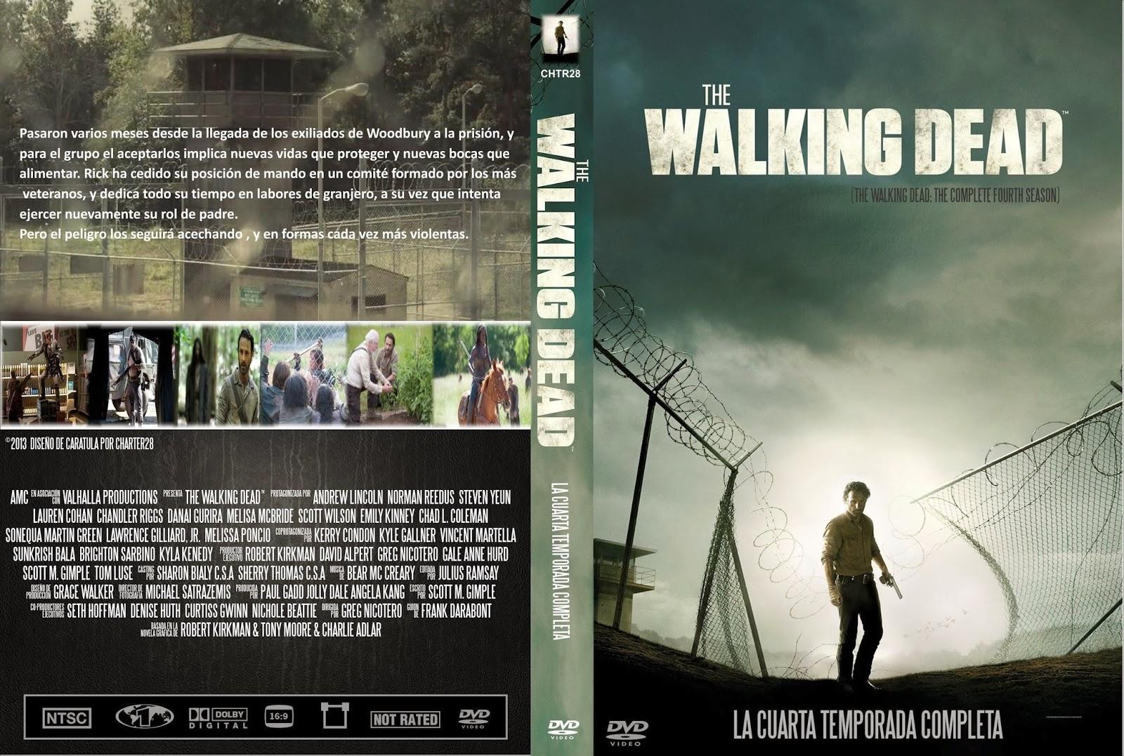 ESTRENOS EN BLU RAY: THE WALKING DEAD CUARTA TEMPORADA