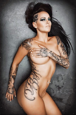 Hot Girls Tattoo Sexy Designs
