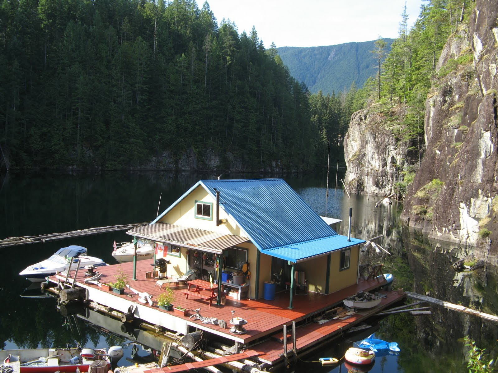 Powell river books blog travel channel extreme for Lakes in bc with cabins
