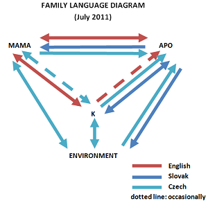Family Language Diagram