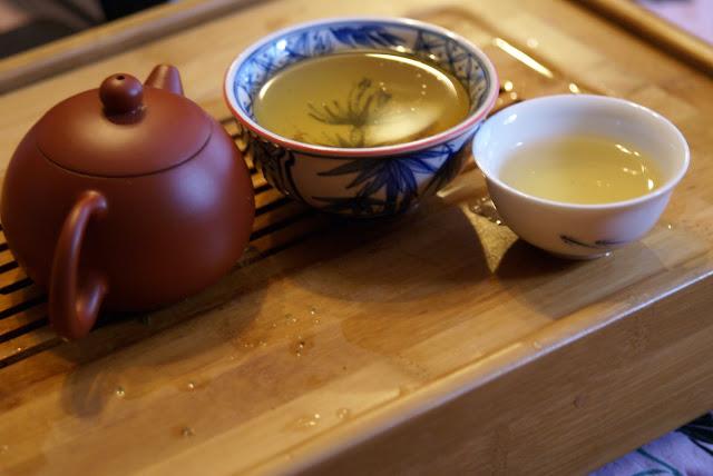 thé infusé