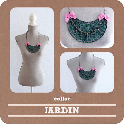 Varias imágenes del collar titulado: Jardín