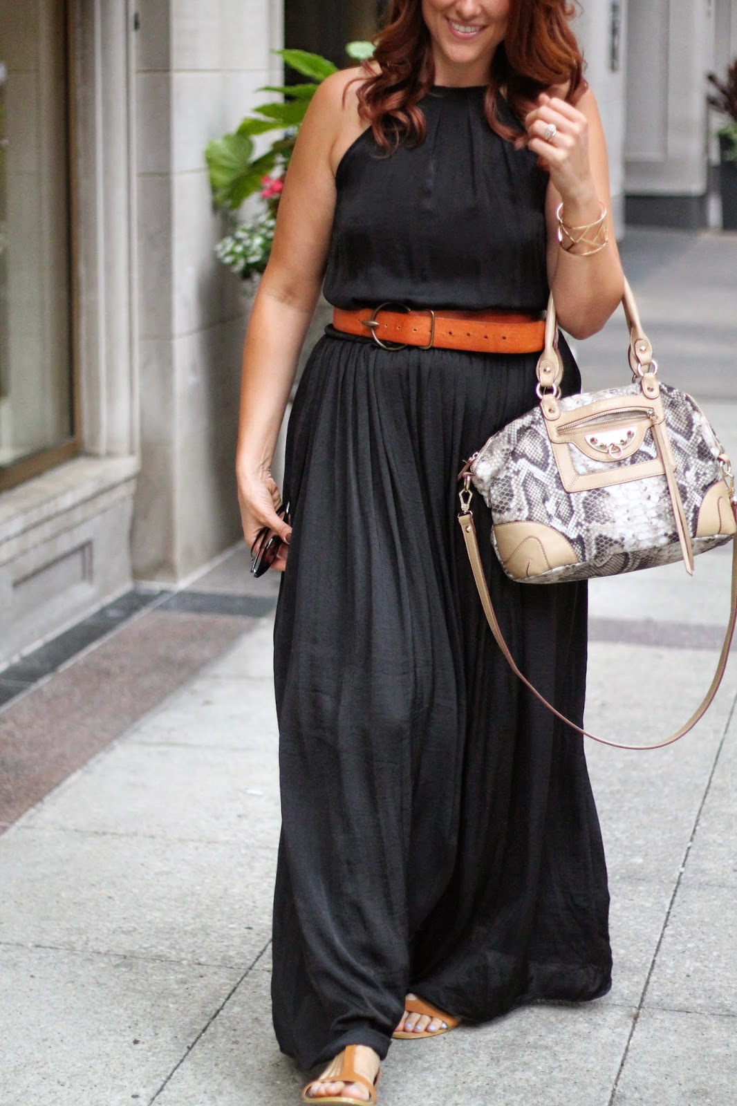 black, zara, maxi, dress