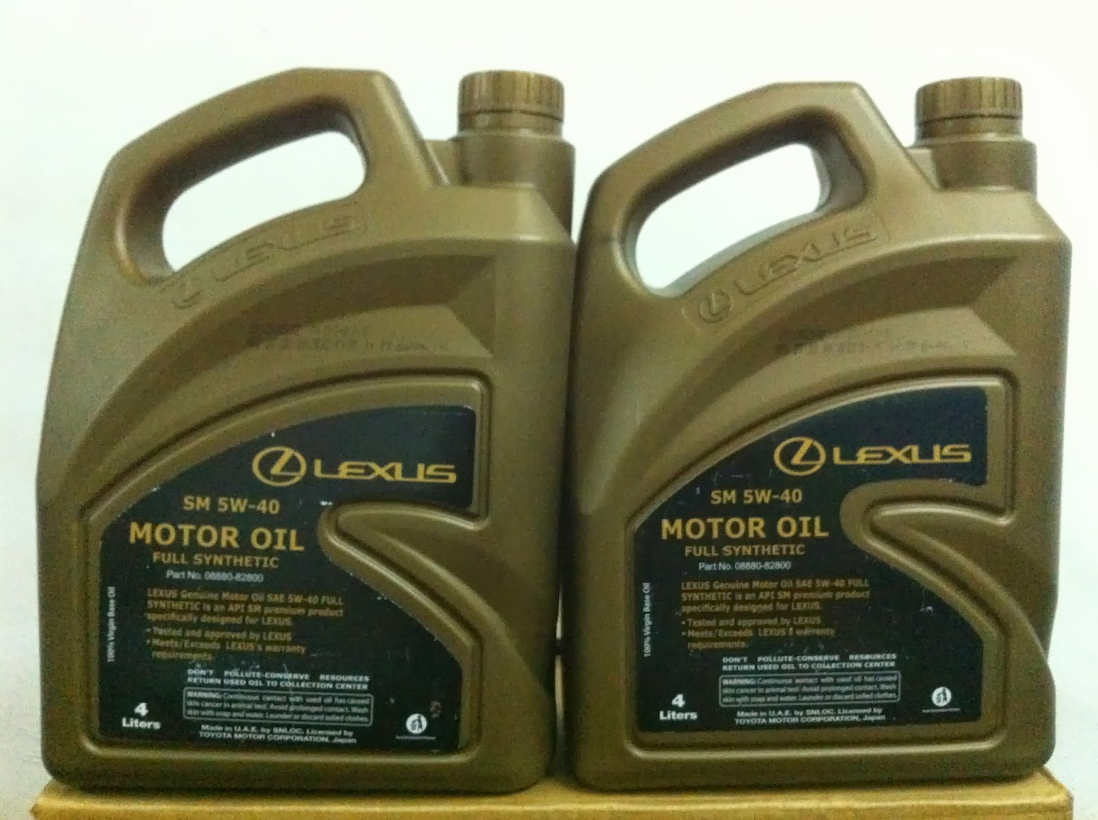 E3 Racing Lexus Fully Synthetic Engine Oil 5w 40