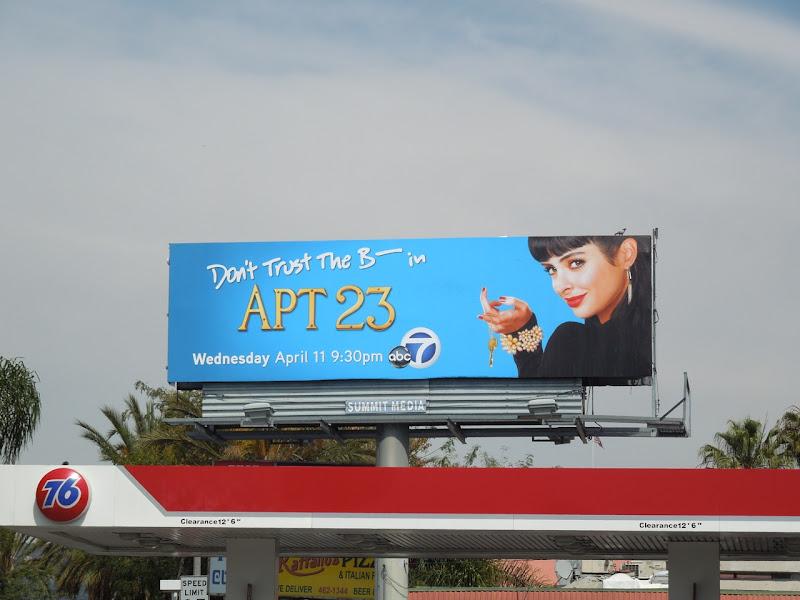 Apt 23 TV billboard