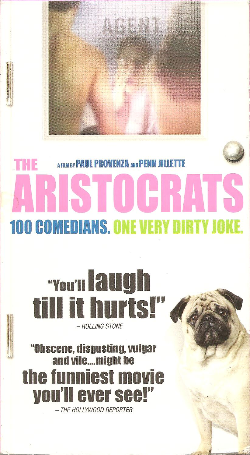 schuster at the movies the aristocrats 2005