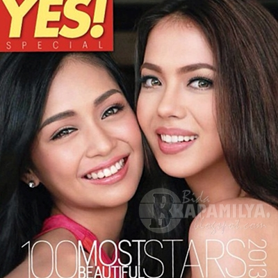 YES! Magazine 100 Most Beautiful Stars 2013 List | Kathryn Bernardo and Julia Montes on Top