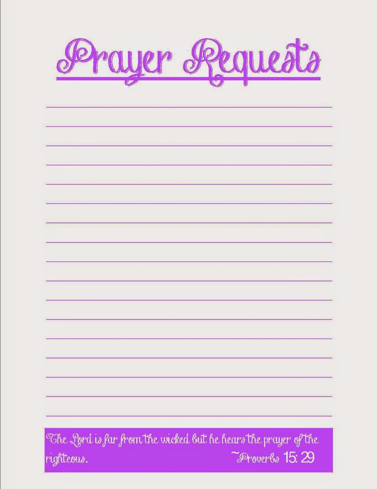 Prayer Request Form | Prayer Request Form Template Basilosaur Us