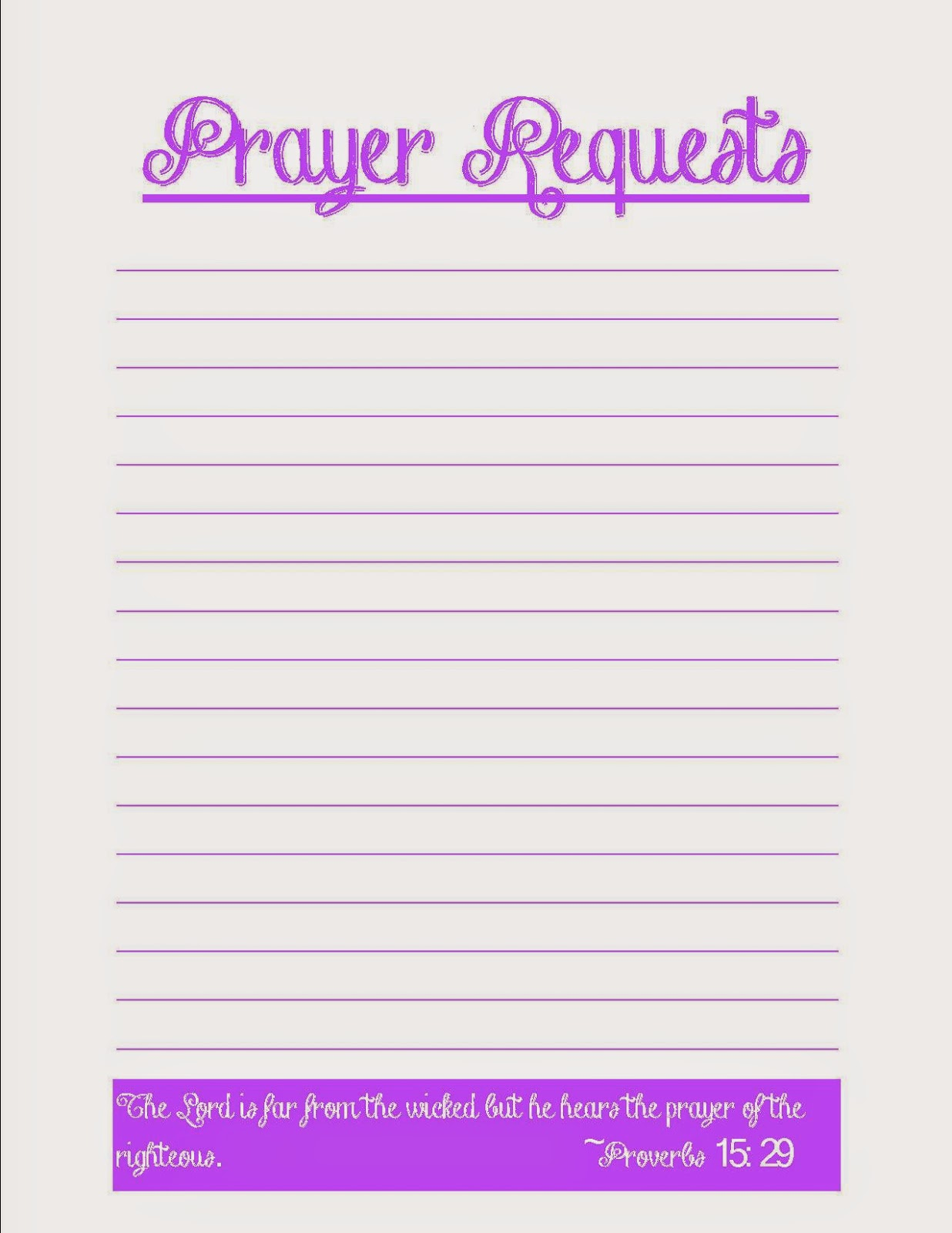 Forms For Prayer Requests Free Prayer Request Form Template Sample