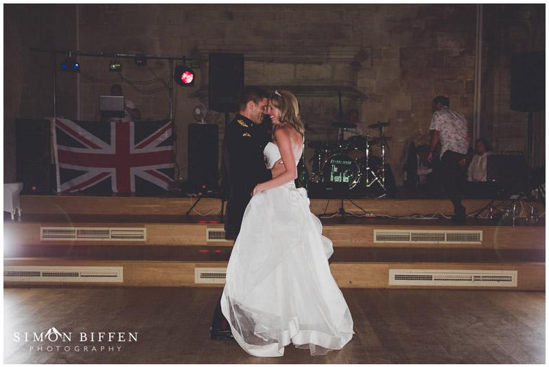 St Donat's Castle wedding first dance