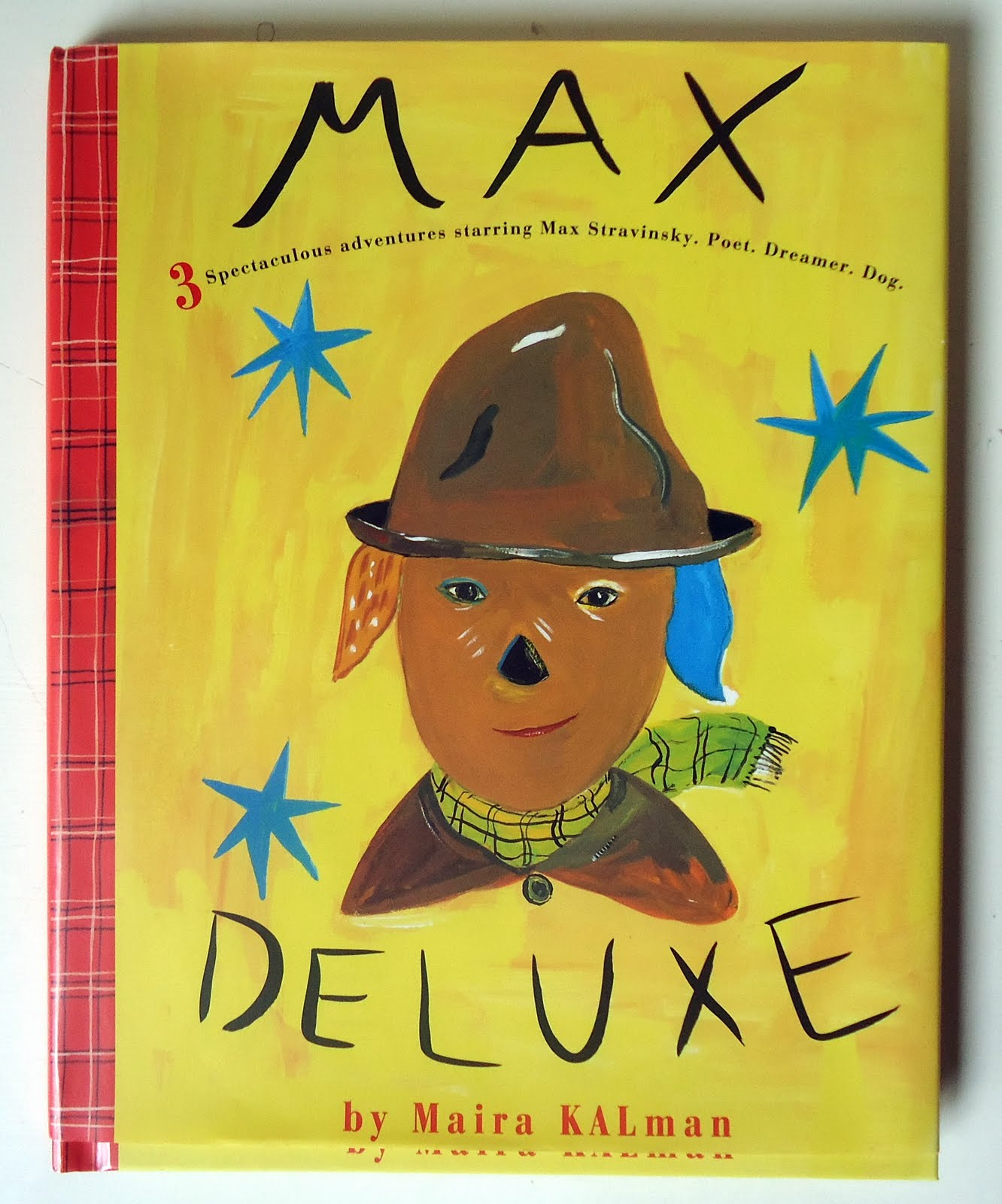 and this was odd: 16.2/365 Max Deluxe Maira Kalman #A89F23