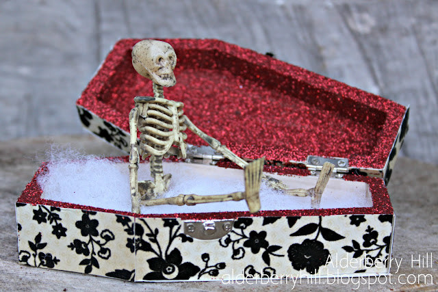 1 pm069 A Glitzy Halloween Coffin
