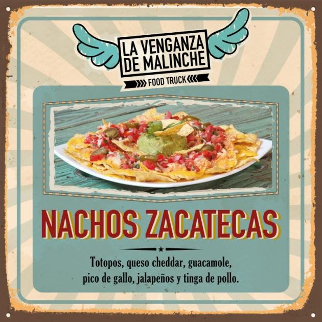 Nachos Zacatecas cocina mexicana
