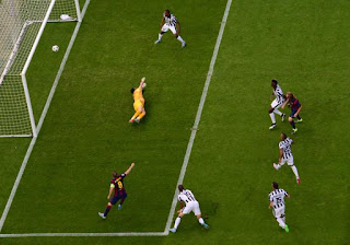 ملخص مباراة مباراة برشلونة و يوفنتوس 3-1