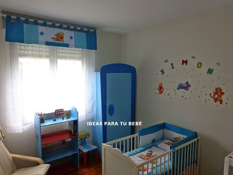 Habitaciones bebe habitacion baby pooh y tigger nely - Habitacion winnie the pooh ...