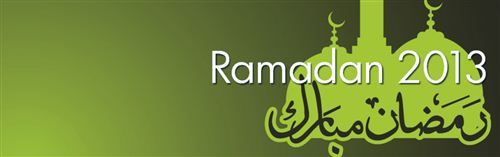 Unique Ramadan Facebook Cover 2015: Ramadan Cover With Simple Green Color
