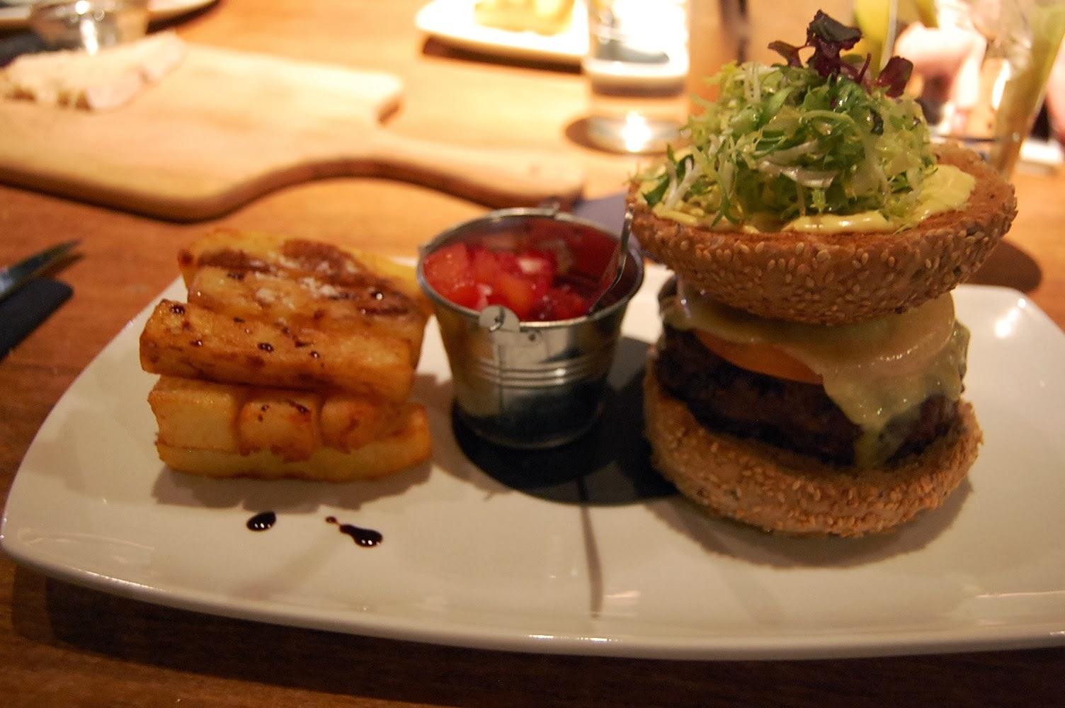 Bard's Burger Tempus Bar Edinburgh