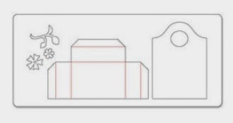 how to make a box using a scoreboard
