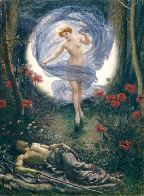 Diana,Endymion,Edward Poynter