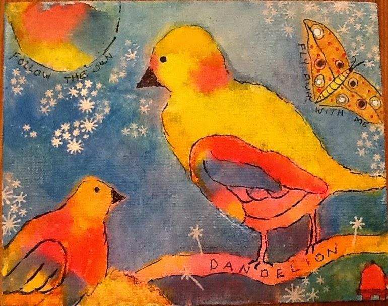 DANDELION'S BIRDS