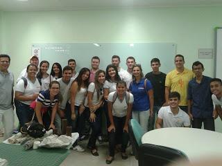 Alunos do SENAI visitam o IFPB Campus Picuí