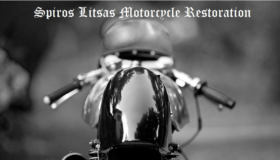 spiros litsas motorcycle restoration and photography