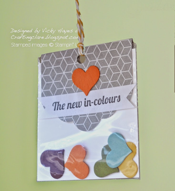 Buy the latest Stampin' Up in colours online available from independent UK Stampin' Up demonstrator Vicky Hayes