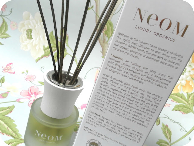 A picture of NEOM Invigorate Reed Diffuser