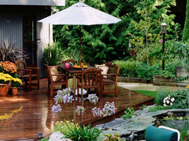 Simple garden designs for Simple garden design ideas
