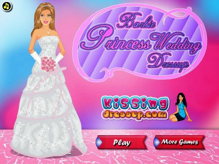 Games Barbie Berdandan Pengantin