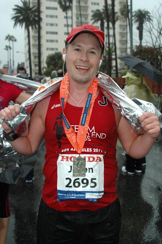 After LA Marathon 2011