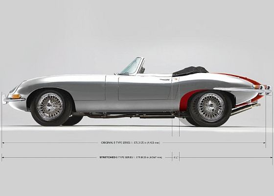 CUSTOM JAGUAR E-TYPE | PAUL BRANSTAD IS ALL SET TO CREATE WORLD'S FIRST STRETCHED JAGUAR E-TYPE