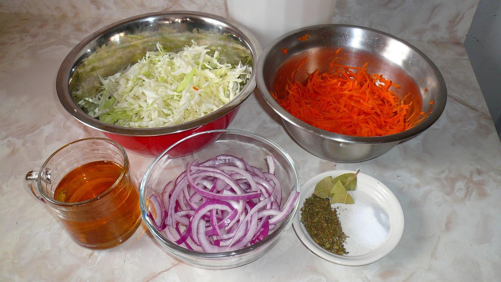 Curtido mi cocina r pida for Como preparar repollo