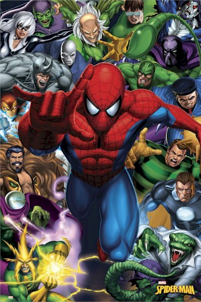 Spiderman villains - photo#8