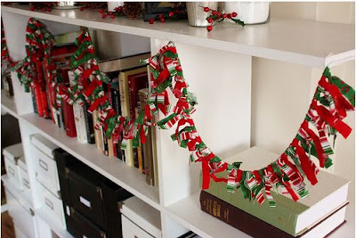 Fabric Scrap Garland 