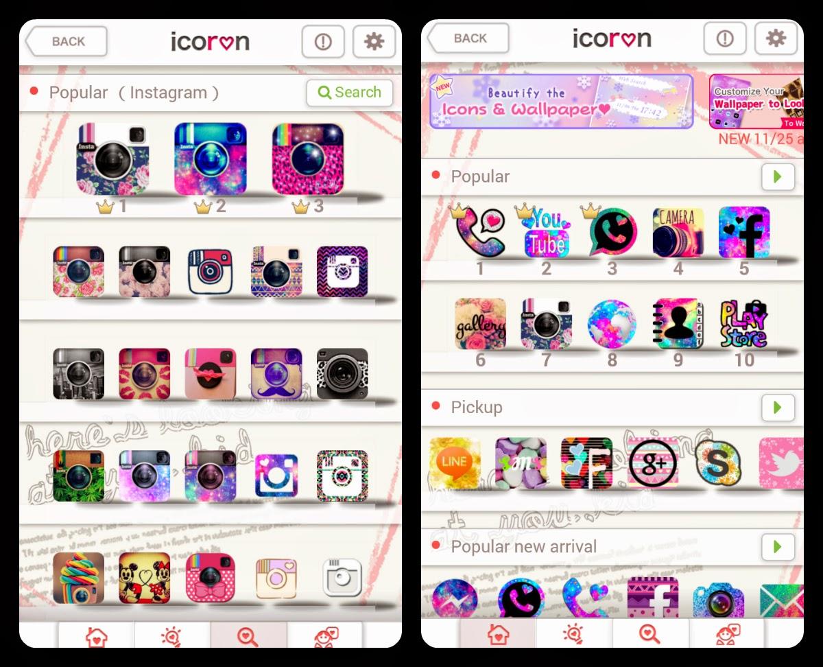 najlepsze kobiece aplikacje Android Icoron
