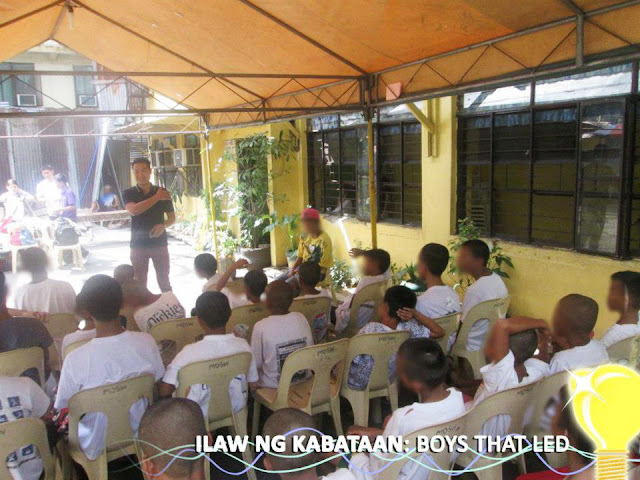 Project our team spearheaded - Ilaw ng Kabataan: Boys that LED