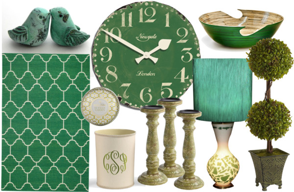 Decorating With Emerald Green Pantone S Color Of The Year The Cottage Market