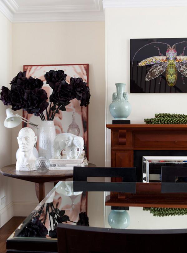 wunderkammer decorar con floreros de porcelana blanca alemana dekorieren mit weissen. Black Bedroom Furniture Sets. Home Design Ideas