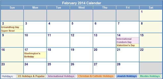 february 2014 calendar printable 4 printable calendar 2014 blank