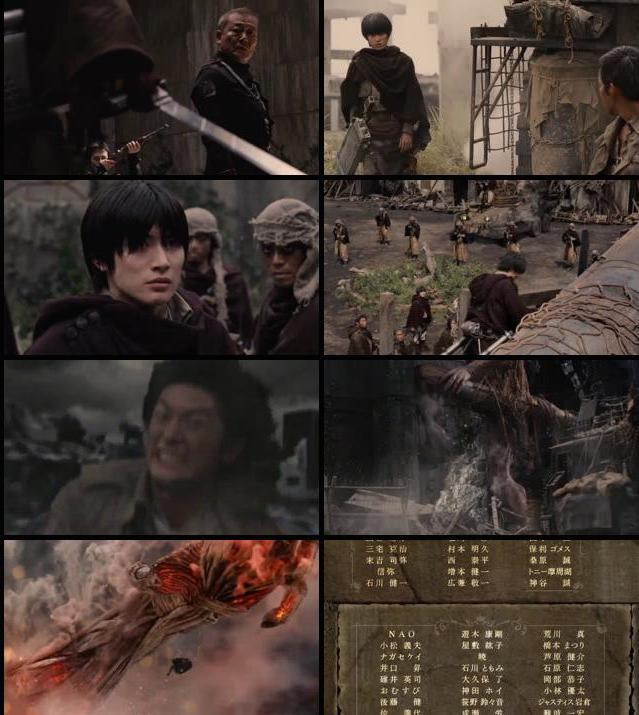Attack on Titan Part 2 2015 720p WEB-DL 650MB