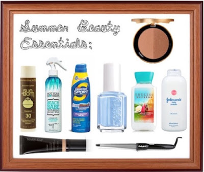 summer beauty essentials, summer break must haves, Lauren Banawa